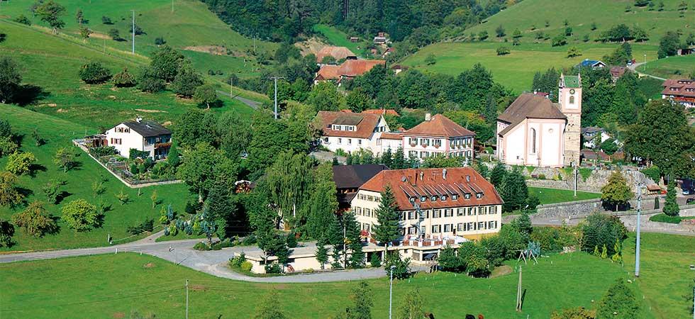 Panorama Welschensteinach im Schwarzwald