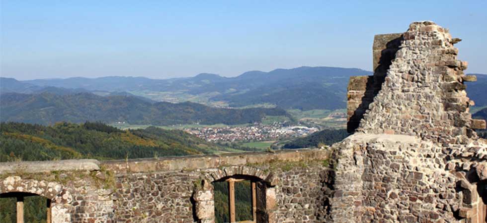 Ausflug auf die Burg Geroldseck